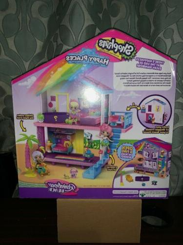 Shopkins Places Rainbow Beach House Children's Gift Shipping