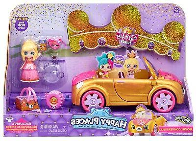 happy places royal trends convertible car playset
