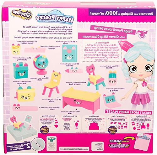 Shopkins 3 Pack Clever Classroom