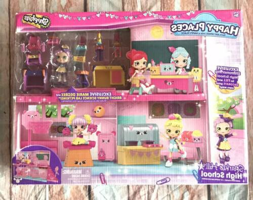 happy places sparkle hill high school playset