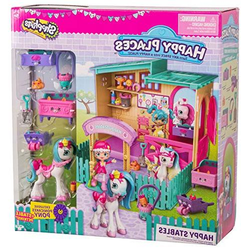Happy Shopkins Stables Playset