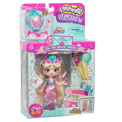 Shopkins Lil - Collectable Shoppie Doll with Wearable Locket - Pearlina