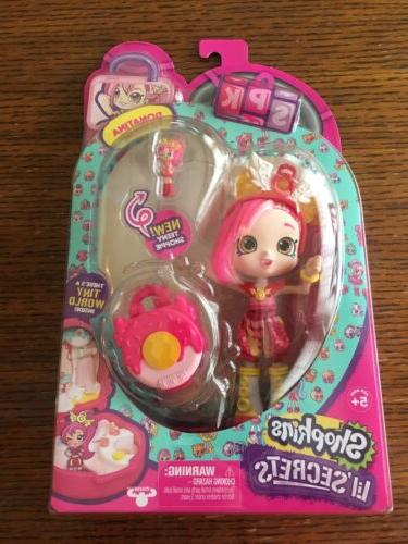 lil secrets donatina doll locket teeny shoppie