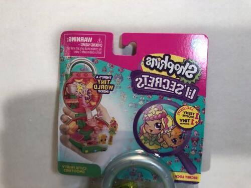 Shopkins Lil' Secrets Secret Lock Fruity Smoothies