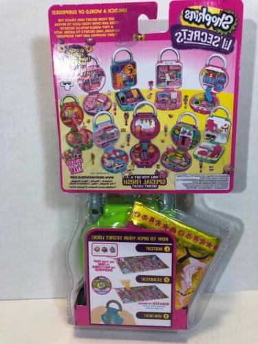 Shopkins Lil' Secrets Lock Mini Playset Fruity Smoothies