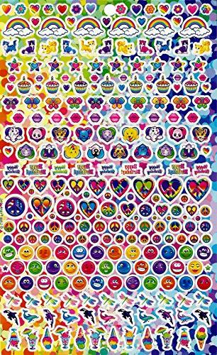 Lisa Frank Over Stickers!