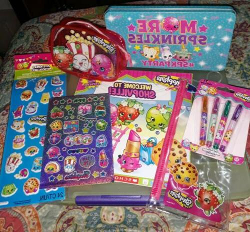 ~SHOPKINS Various Toy Items~Stickers Book Etc~