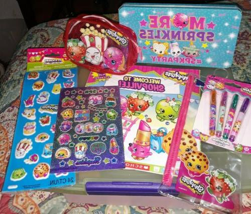 lot mixed various toy items stickers zip