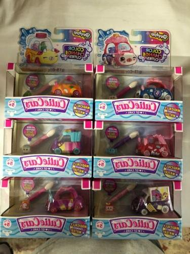 lot of 6 shopkins color change cutie