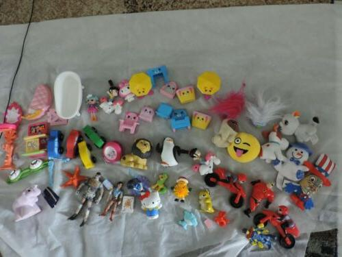 lot of 60 mixed shopkins action figures