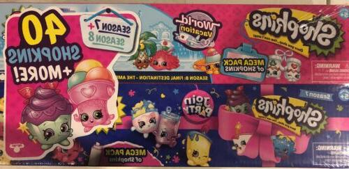 Shopkins Pack 7 the and World 40 NIB