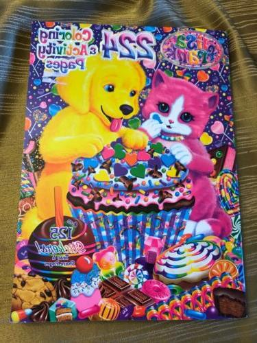 new lisa frank 224 page coloring