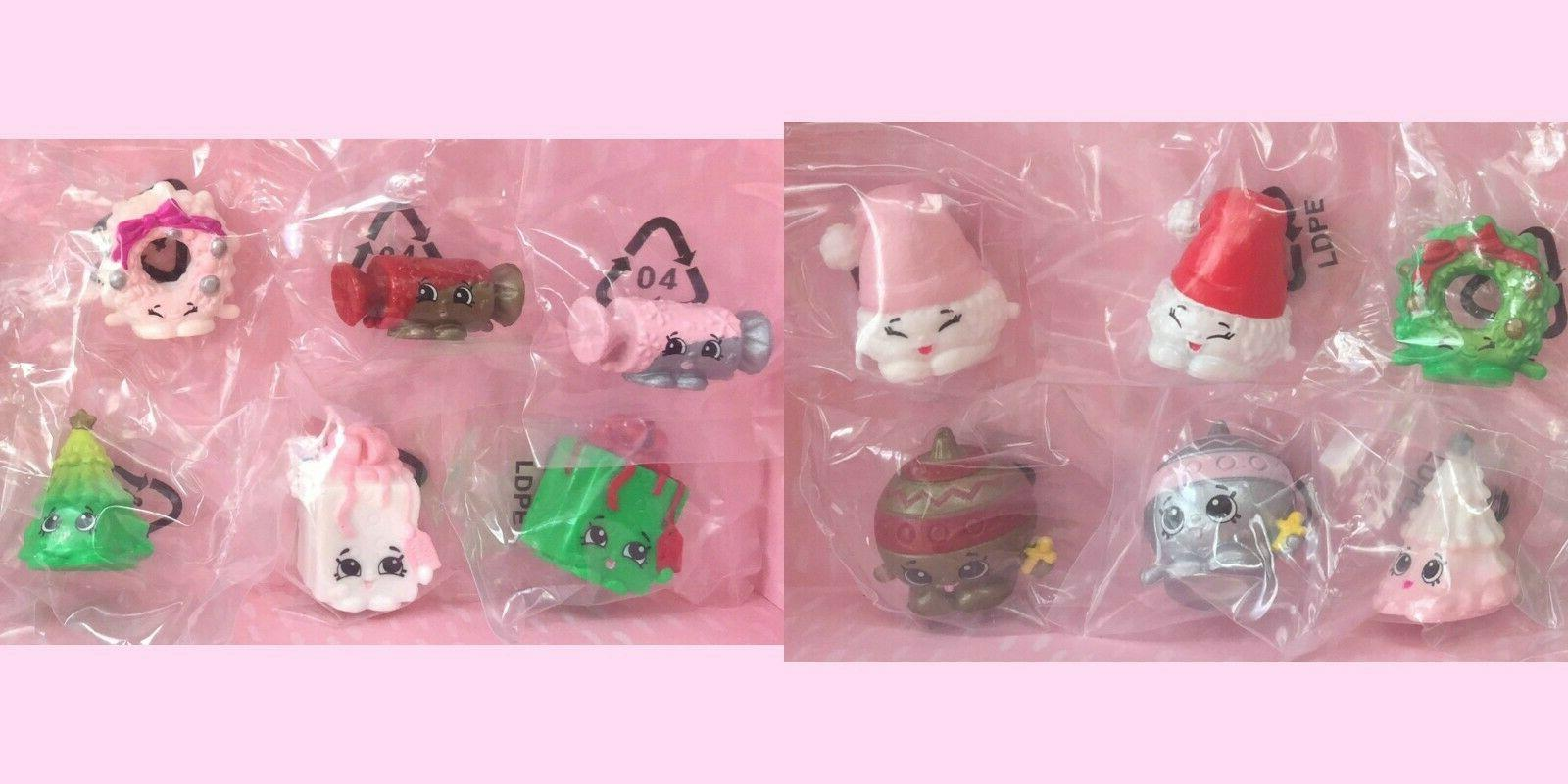new shopkins 2016 christmas exclusive complete set
