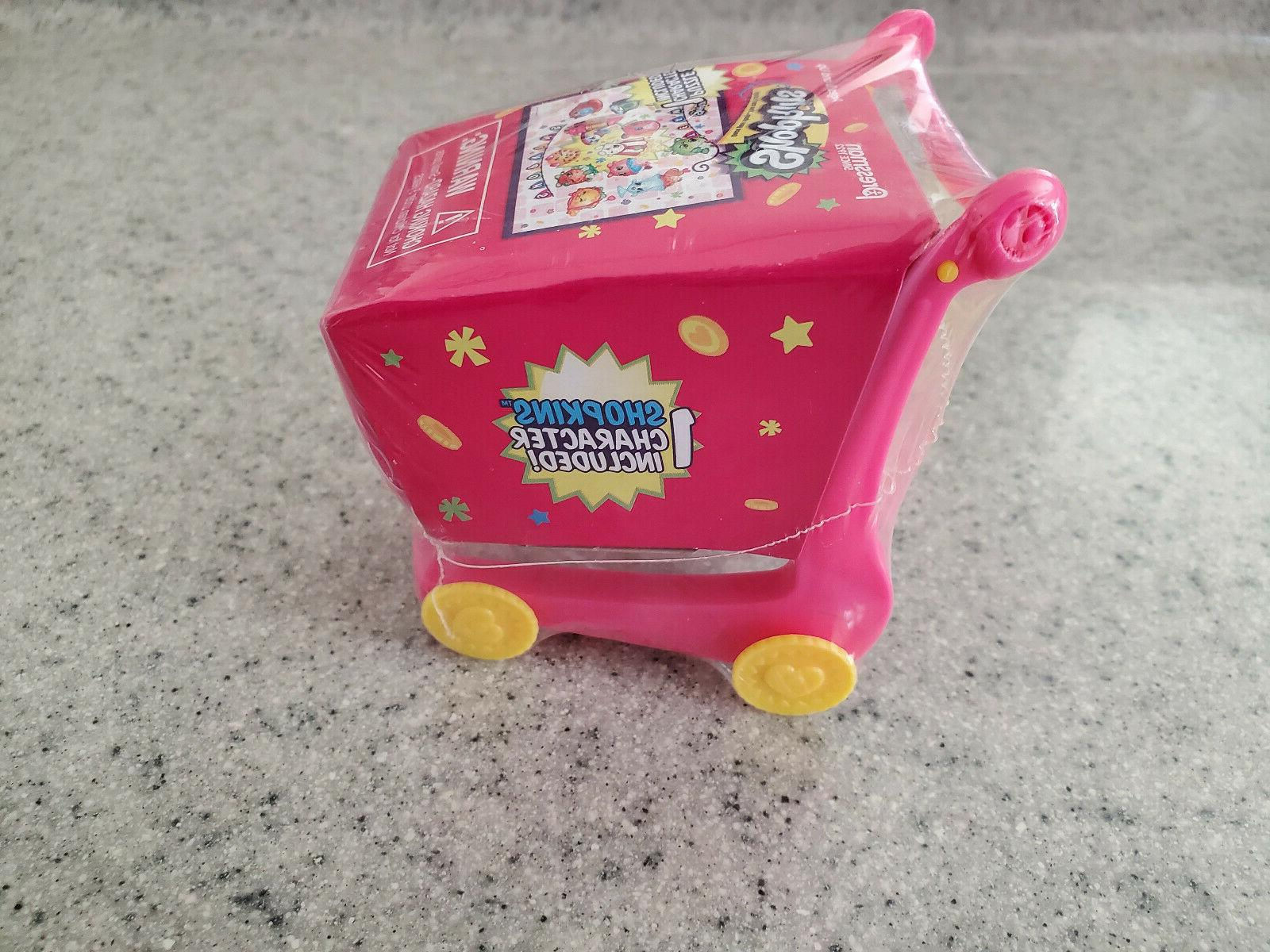 NEW Shopkins Shopping Cart and 1 Shopkin Figure
