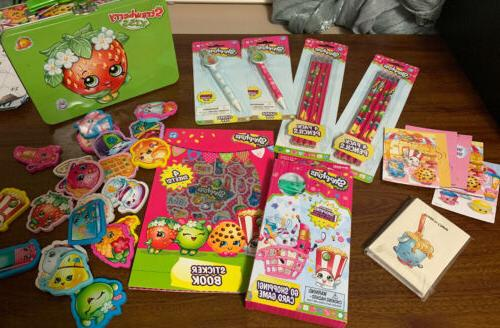 new shopkins card game go shopping includes