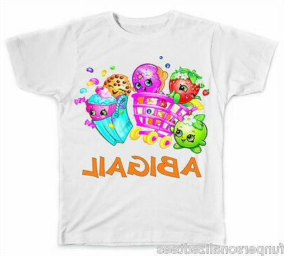 personalized shopkins t shirt