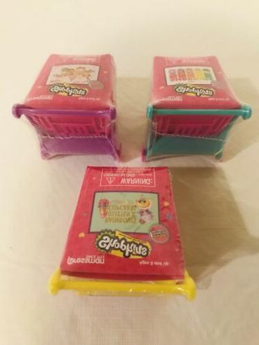 Shopkins Shopping pc Puzzle W/ Set Of 3