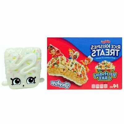 Rice Krispies Treats Birthday Cake Shopkins Real Littles Fig