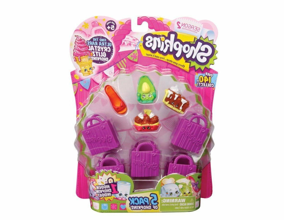 Shopkins 5 Pack Playset X Receive 2