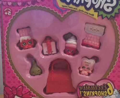 SHOPKINS Season 12 Pack Edition and Sweet Heart NEW
