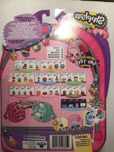 Shopkins Season 5 pack with charms! New in package