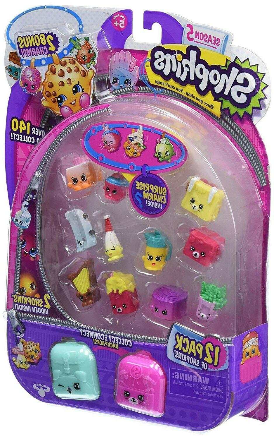 NEW Shopkins Season 5 Bundle: 12 pack and 5 pack