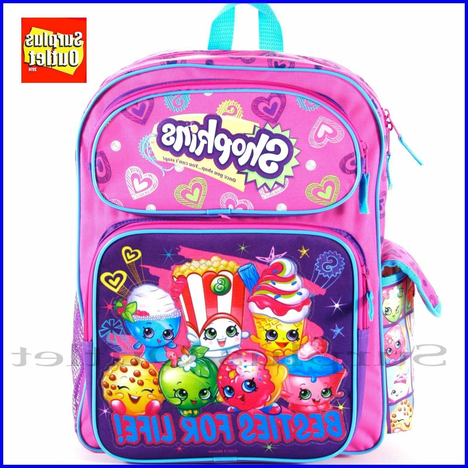 shopkin besties for life 16 girls backpack