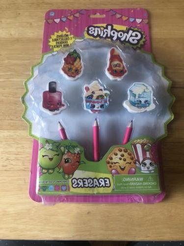 shopkins 10 collectable erasers 6