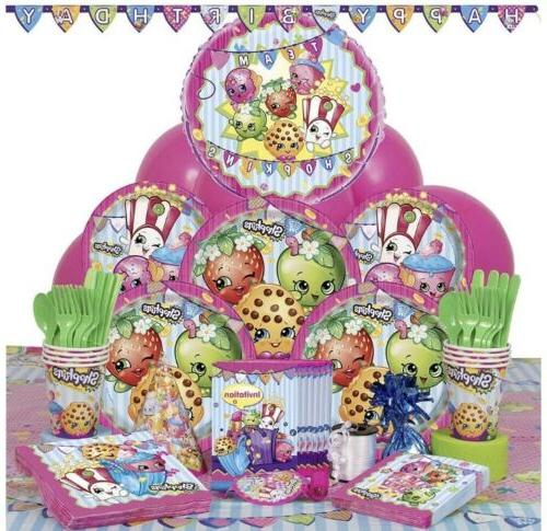"Shopkins 9"" Lunch Plates"