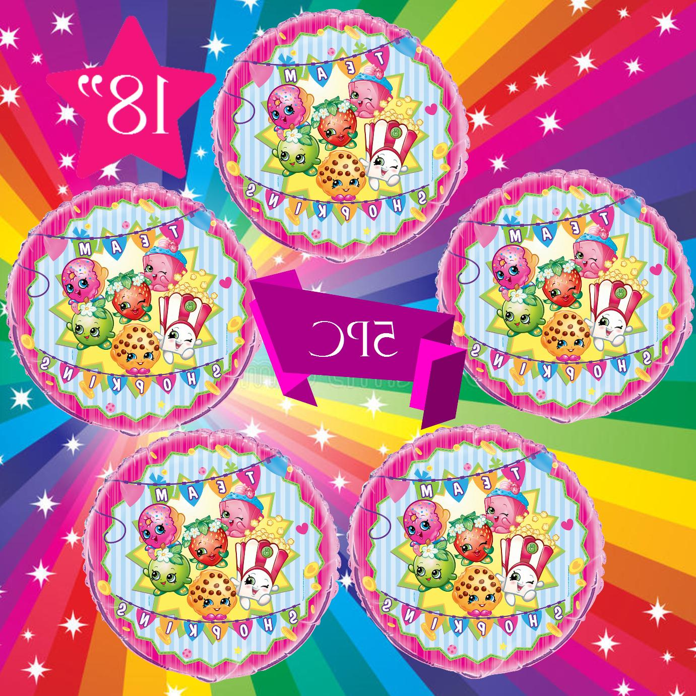"SHOPKINS 12"" Latex BALLOONS"
