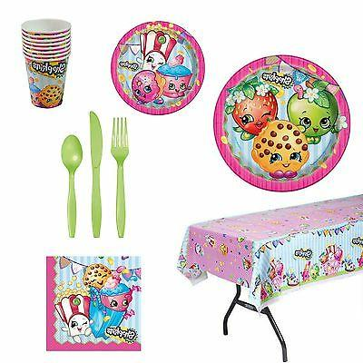 Shopkins Party Supplies 8 Guests - FREE SHIPPING! NEW!