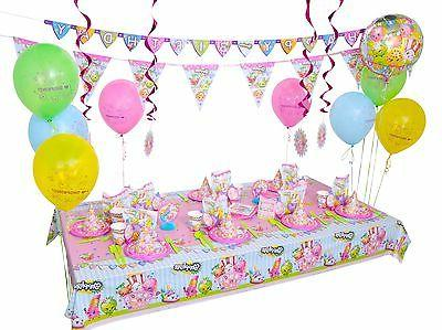 Shopkins Birthday Party Supplies Decoration Guests -