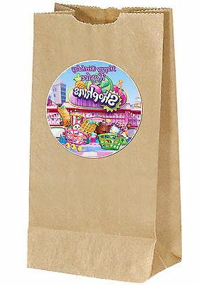 shopkins birthday personalized sticker labels goody bag