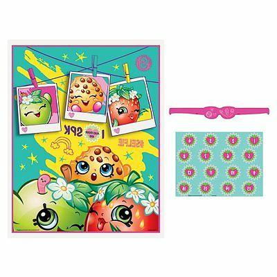 shopkins birthday poster 16 player