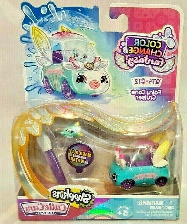 shopkins cutie cars color change fantasy fairy