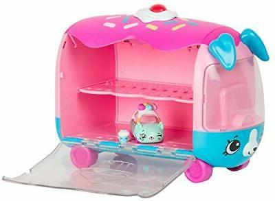 Shopkins Cutie Cars Play 'n' Display Cupcake with Exclusive Cutie Car Mini