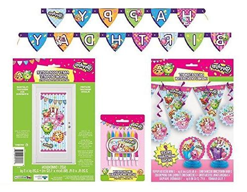 shopkins deluxe birthday party decorating