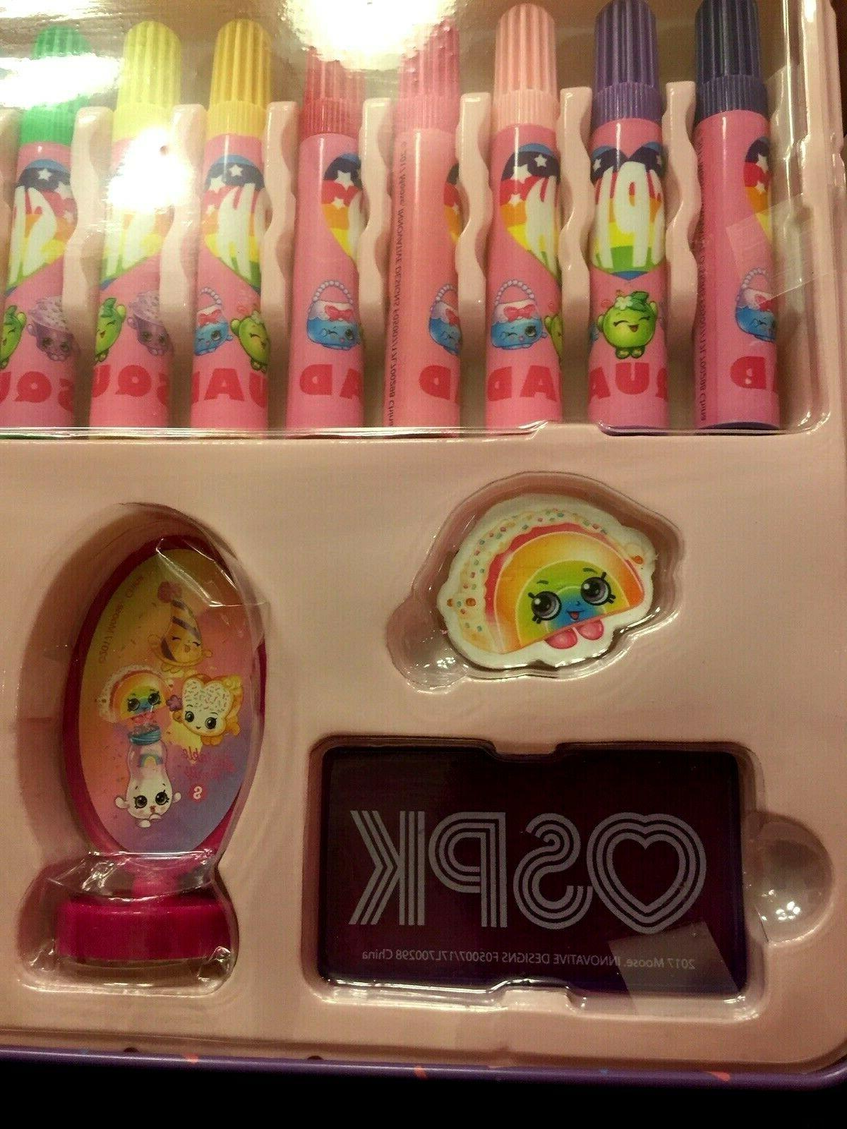 Shopkins with Carrying for 200+ Pieces