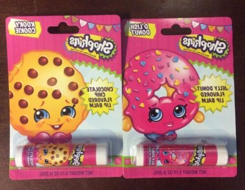 shopkins flavored lip gloss 2 varieties available