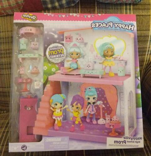 shopkins happy places happyville high school prom