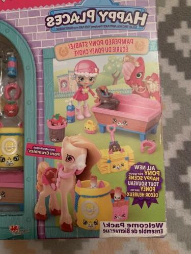 Shopkins PONI CRUMBLES Pampered Pony Welcome Pack