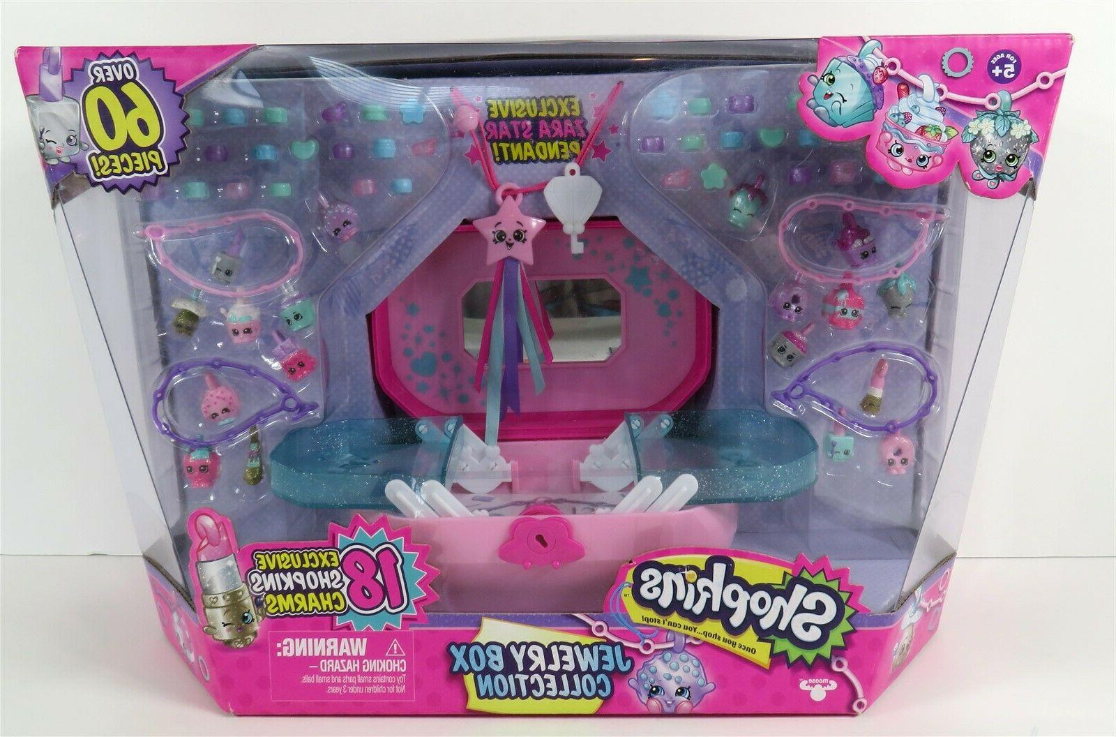 shopkins jewelry box collection playset 60 pieces