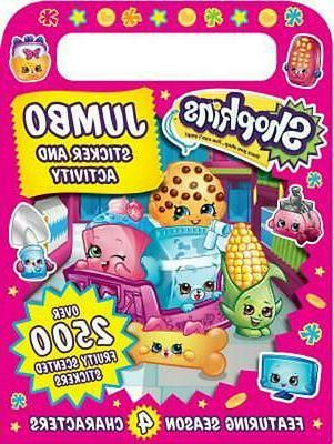 shopkins jumbo sticker activity