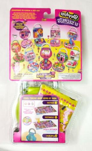Shopkins Lil' Secret Lock Playset - Cutie Fruity Smoothies Rare