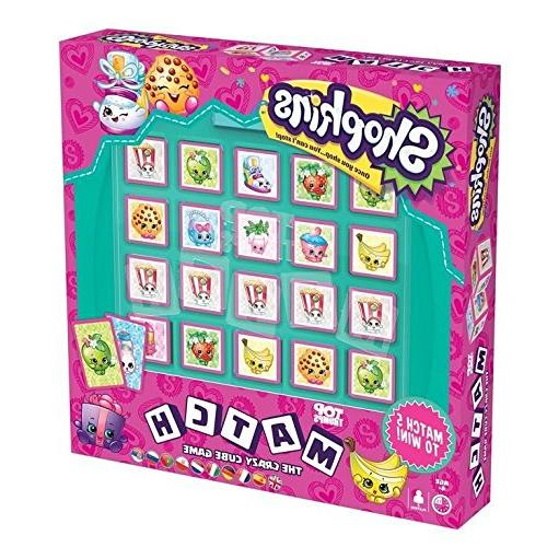 shopkins match board game