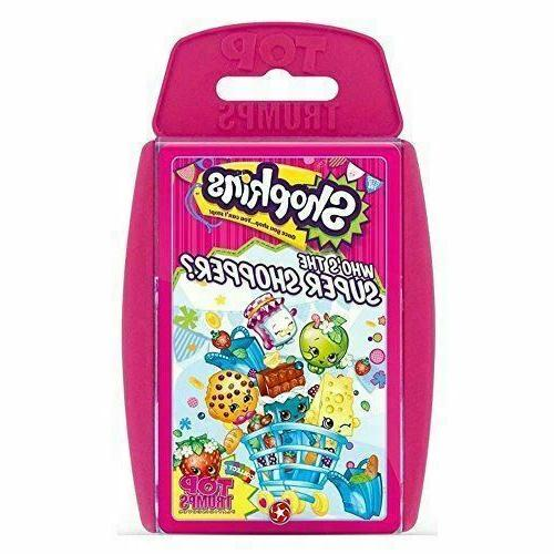 shopkins new games card game