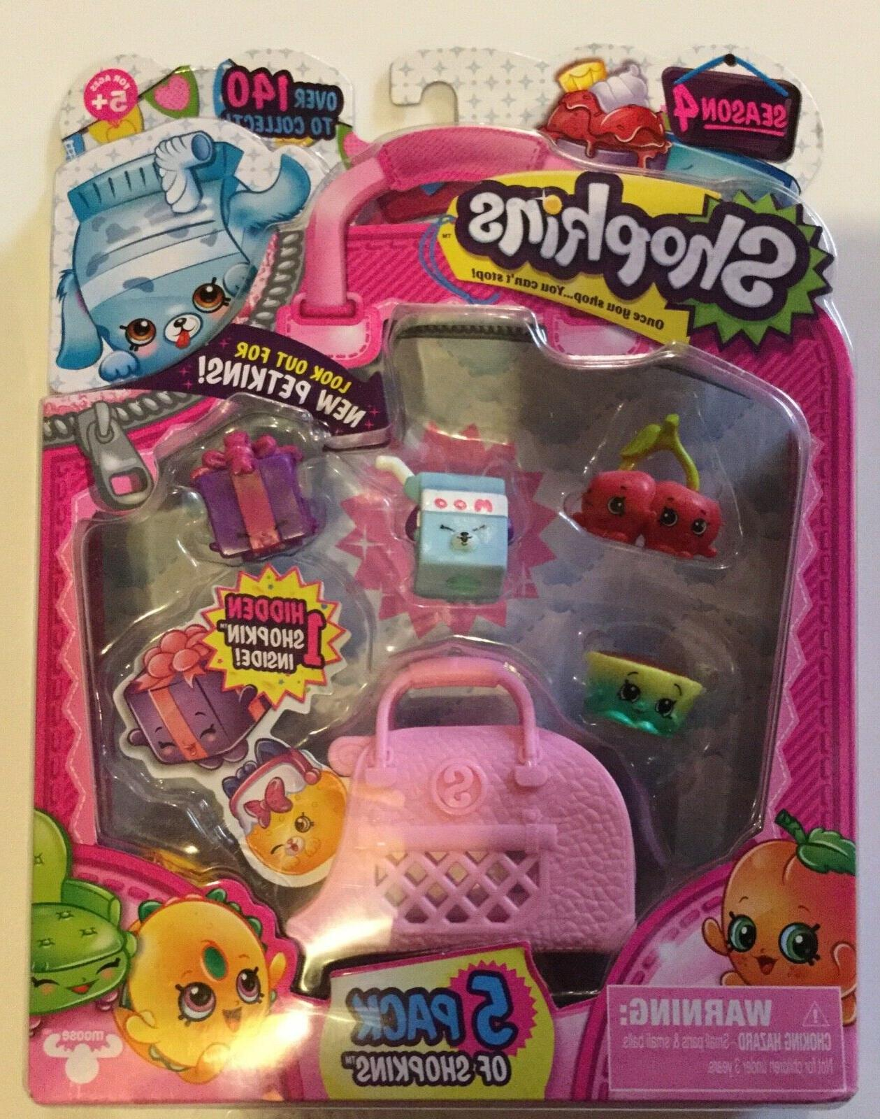 Shopkins 3, 4, 6 or 5 packs U