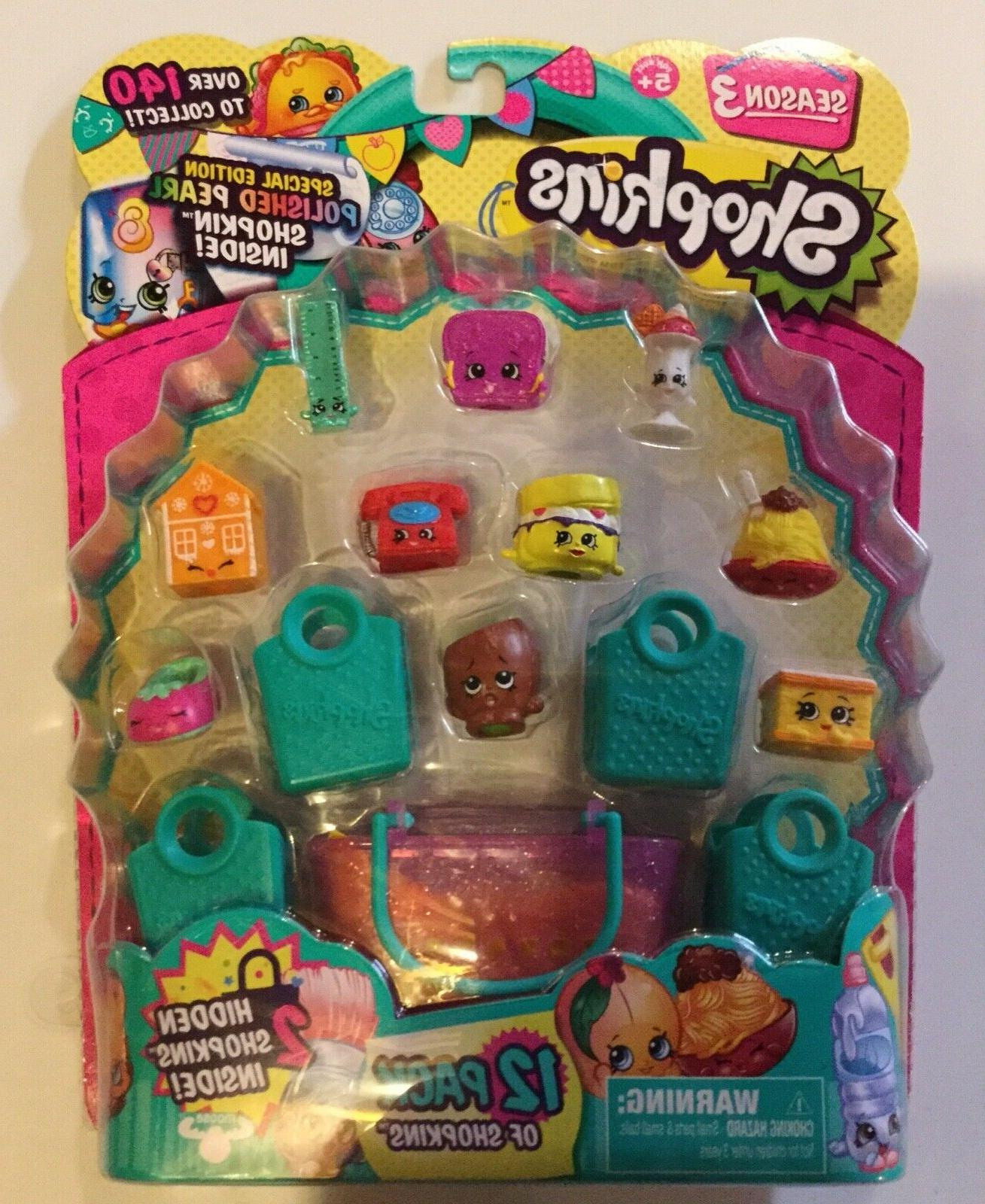 Shopkins 1, 3, 4, 6 5 Pick