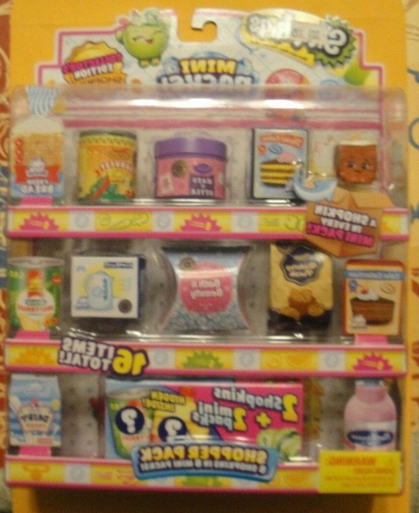 Shopkins 10 16 PACK Mystery Shoppers
