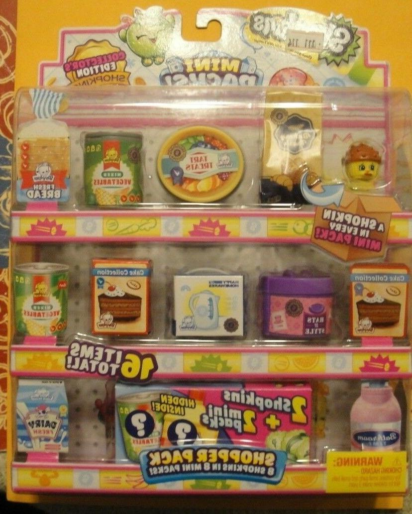 Shopkins Season 16 Mini Shoppers Pack